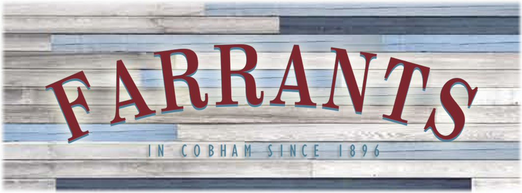 Farrants - In Cobham since 1896